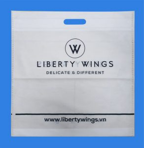 LIBERTY WING WHITE BAG